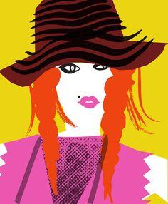 Fashion Illustration - www.luciesheridan.com #Fashion #illustration