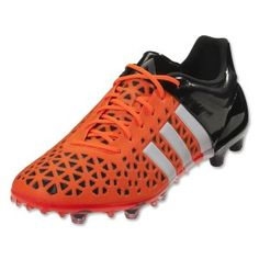 check out 5dcfe b2325 Adidas ACE 15.1 FGAG Mens Soccer Cleats Solar OrangeWhiteBlack