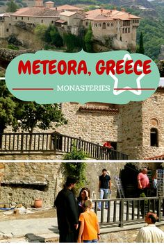 Great historic site near Volos, Greece- Meteora, the UNESCO home of the amazing monasteries that seem to float in the clouds!