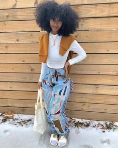 Chill Outfits, Cute Swag Outfits, Dope Outfits, Trendy Outfits, Tomboy Outfits, Look Girl, Black Girl Fashion, Plaid Fashion, Fashion Pants