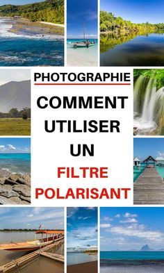 Passionate about photography? I give you in this article everything you need to know to use a circular polarizing filter correctly, the ideal object for successful landscape photos when traveling Beautiful Landscape Photography, Landscape Photos, Beautiful Landscapes, Travel Photography Tumblr, White Photography, Photography Ideas, Accessoires Photo, Black And White Landscape, Photoshop