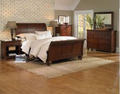 ICB404 in by Aspen Furniture in Stockton, CA - Cambridge King/Cal King Sleigh Bed Headboard