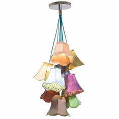Image detail for -Betty's Boudoir Oversized Pendant Lights   Chandeliers   Lighting ...