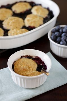 Shortcut Blueberry Cobbler. click on picture, it'll take you to the recipe!
