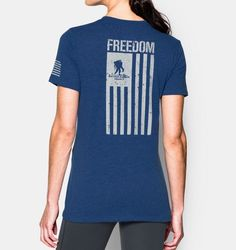 Women's UA Freedom Flag T-Shirt