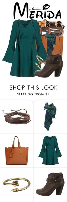 """""""Merida"""" by annabelle-95 ❤ liked on Polyvore featuring Zodaca, Violeta by Mango, rag & bone and TOUS"""