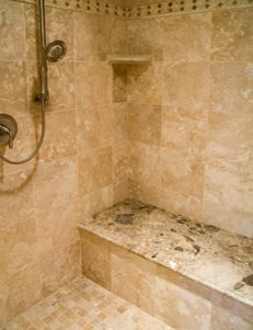 Check out this crucial graphics as well as take a look at the shown strategies and information on walk in shower tile ideas Travertine Bathroom, Stone Bathroom, Master Bathroom, Basement Bathroom, Stone Shower, Marble Bathrooms, Bathroom Modern, Small Bathrooms, Dream Bathrooms