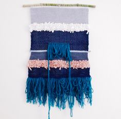 Totem // woven wall hanging // tapestry weaving by totembypoppy