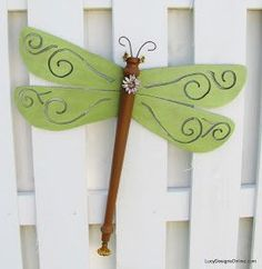 green scroll wing table leg dragonfly