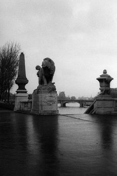 Pont Alexandre III, Paris, 1978.