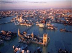 London: Underwater. The thing about sea level rise is, no matter how cathartic it might be to see the government under water, the UK is basically rich enough to make sure this doesn't happen.