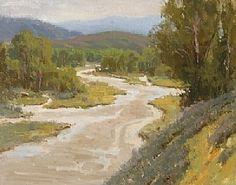 Gros Ventre River by Steve Atkinson Oil ~ 11 x 14
