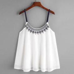 Fashion Womens Summer Loose Vest Top Sleeveless Blouse Cami Tank Tops T-Shirt