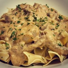 Lactose Free Beef Stroganoff on LiveLoveSaute.com  Check out my recipe blog for delicious eats!