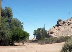 Sector Piedra Colgada años 80.