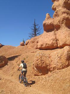 Biking around Thunder Mountain's Hoodoos is unlike anything else!