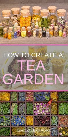How to Create a Tea Garden will show you how easy it is to have the ingredients for brewing your own tea, right outside your back door. A list of plants will help you design the garden of your dreams. design, How to Create a Tea Garden Herb Garden Design, Diy Garden, Dream Garden, Garden Projects, Garden Plants, Garden Landscaping, Shade Garden, Landscaping Ideas, Garden Cottage
