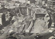 Unkapanı Köprüsü'nü Şişhane'ye bağlayan #Azapkapı Geçidi inşaatı, (Haziran 1969)