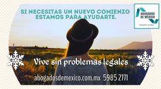 Empieza el 2016 resolviendo tus pendientes legales. ¡LLÁMANOS YA! Abogados de Mexico te desea felices fiestas. www.abogadosdemexico.com.mx  5985.2771 Embedded image permalink