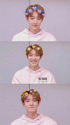 Baekhyun, Chanyeol Cute, Park Chanyeol Exo, Kpop Exo, Exo Ot12, Chanbaek, Park Seo Joon, Exo Lockscreen, Picture Credit