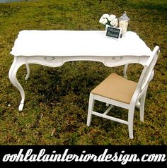French writing desk $800