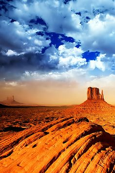 The Great Basin desert, Southwestern USA