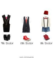 Outfits concerning the Doctor... could seriously pull off the 11! super cheap option too!