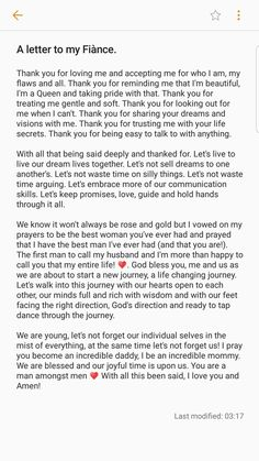 A letter to my Fiance ❤. Apology Letter To Boyfriend, Anniversary Message For Boyfriend, Cute Messages For Boyfriend, Love Letters To Your Boyfriend, Anniversary Quotes For Him, Birthday Quotes For Him, Boyfriend Quotes, Happy Anniversary, Love Quotes For Fiance