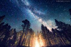 Campfire by Knate Myers on 500px