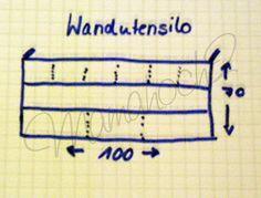 Wandutensilo nähen - Tutorial für Anfänger und Individualisten - Mamahoch2