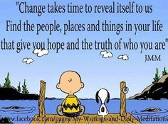 Always listen to Charlie Brown!