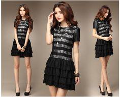 2013 Summer Fashion Collection Dress 1681 - Dresses - korean japan fashion clothes dresses wholesale women