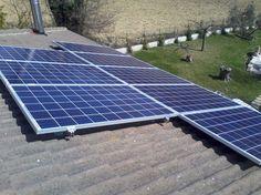 Impianto fotovoltaico ad ANCONA da 4,00 kWp su copertura - 16 moduli Q-CELLS in SILICIO POLICRISTALLINO da 250 Wp - UTILIZZO di OTTIMIZZATORI di POTENZA (SOLAREDGE)