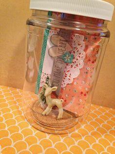 mini album in a jar - Buscar con Google