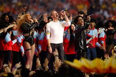 "Coldplay, Beyoncé e Bruno Mars detonam no intervalo do ""Super Bowl 50""; assista! – Blog do Deill"