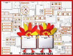 Creekside Teacher Tales: Thanksgiving Craftivity & FREEBIE