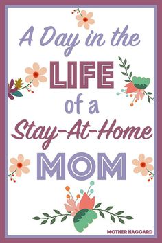 Come spend a Day in the Life of a Stay-at-Home Mom with Mother Haggard. Bring coffee. #momlife #stayathomemom  #funnyparenting
