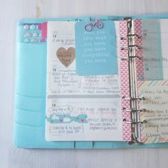 cafe et papier - blog: moving in (& adjusting to) my A5 Kikki.K planner