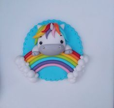 Pony con arcoiris