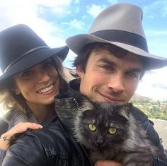 Ian Somerhalder (of Vampire Diaries fame) not only likes cats and has actively helped get individual animals adopted, but has raised funds for his own animal sanctuary.