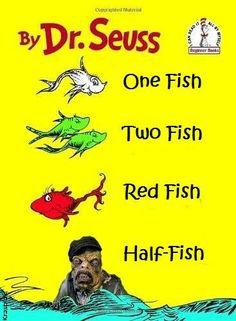 One Fish Two Fish, Red Fish, Comic Books, Comics, Memes, Artwork, Work Of Art, Comic Book, Comic