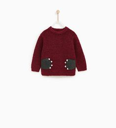 CLAW APPLIQUES SWEATER-NEW IN-BABY BOY | 3 months - 4 years-KIDS | ZARA United States