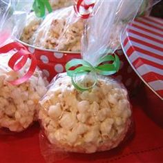"Best Ever Popcorn Balls  | ""One word: Yum! Soft and chewy perfection. Thank you for the recipe!"""