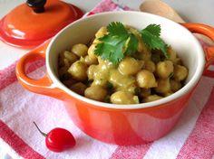 curry de grão de bico