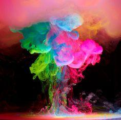 Explosão de cores. #Cores #Criatividade