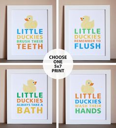 Attractive Duck Ducky Bathroom If You Sprinkle Tinkle Cute Rubber Kids Bath Yellow  Wood Crafts. $6.95, Via Etsy. | For The Kids | Pinterest | Kid, My Boys And  Children