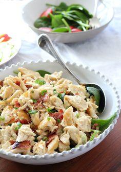 bacon scallion chicken salad 7