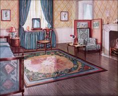 1928 Armstrong Updated Traditional Bedroom - 1920s Interior Designs for Bedrooms
