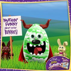 Check out this Easter egg from Chester's #Eggerator