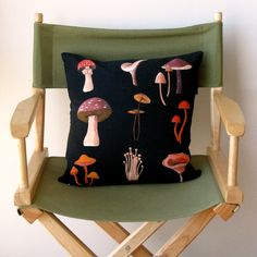 This mushroom pillow would look great with our couch